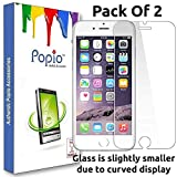 POPIO Tempered Glass Screen Protector For iPhone 6 / iPhone 6S / iPhone