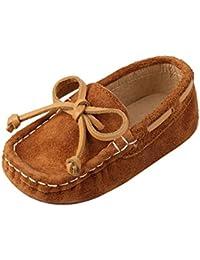 CHIC-CHIC Chaussure Bateau Mocassin Enfant Bébé Loisirs Confort Chaussures Fille Garçon Cuir Suédé Plates Oxford Mode Princesse