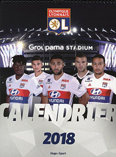 Calendrier mural Olympique Lyonnais 2018