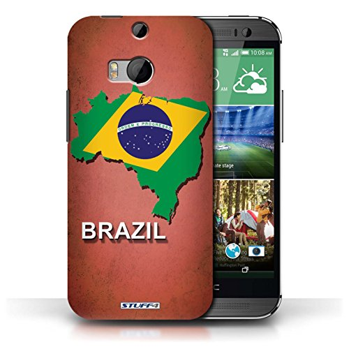 iCHOOSE Hülle / Hülle für Apple iPhone 5C / harter Plastikfall für Telefon / Collection Flagge Land / Griechenland/Greek Brasilien/Brasilianisch
