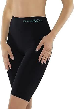 Body&Co Short Sportivo con Fibra Emana® Che Attiva Il microcircolo Snellente tonificante