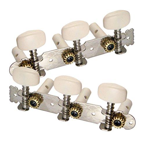 Sharplace 6pcs Strings Tuning Pegs Mechaniken für Gitarre