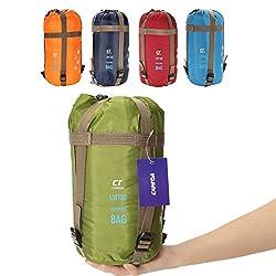 Schlafsack,CAMTOA ultraleicht Umschlag Hüttenschlafsack,TC Baumwolle Outdoor Wasserdicht Camping Sleeping Bag Blau