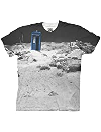 Doctor Who TARDIS Prehistoric Earth Adult Sublimation T-Shirt