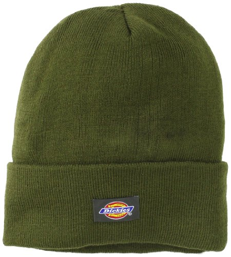 Dickies Core Olive Cuffed Knit Beanie Hat