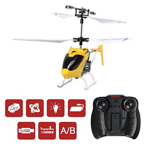 Creation SYMA W25 Mini RC Helicopter 2.5-Channel mit Gyro Infrarot Fernbedienung Spielzeug Hubschrauber für Outdoor / Indoor