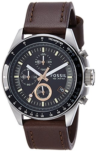 Fossil End of Season Decker Analog Black Dial Men's Watch - CH2885I