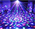 Bluetooth Speaker Party Lights 9 colors 9W Party Disco Ball Projector Stage Lights Strobe Club lights Effect Mini Lights Wireless Phone Connection Mirror Ball Rotating Lighting
