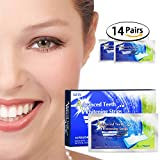 Teeth Whitener Kit- Inofia Teeth Whitener Strips Dental Paste Enamel Safe Whitening Strip Safe Teeth Stain Remover for Crystal Smile 28pcs [90-DAY Money Back Guarantee]