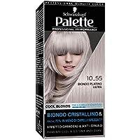 Schwarzkopf Palette Professional Performance,Cool Blonds Colorazione Permanente per Capelli, Tinta per Capelli…