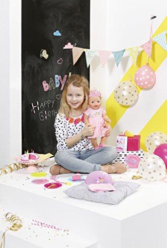 Zapf Creation Baby Born interactivo 824054feliz cumpleaños muñeca