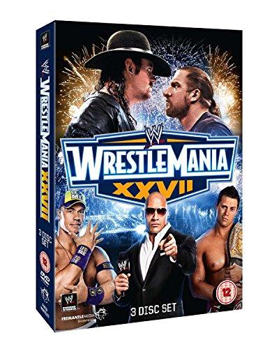 WWE - WrestleMania 27 [3 DVDs] [UK - Wwe-wrestlemania