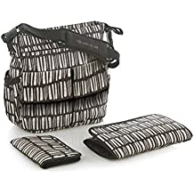 Jane Mama bolsa bolso cambiador (color negro)