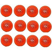 M & M MARS CW Wind Balls - Juego de 12 Pelotas de Golf para Entrenamiento, Color Naranja