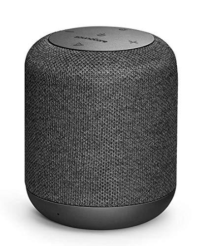 Soundcore Bluetooth Lautsprecher Motion Q Tragbarer 16W Lautsprecher von Anker mit fantastischem 360° Sound, BassUp Technologie und IPX7 wasserdichte(Zertifiziert Generalüberholt)