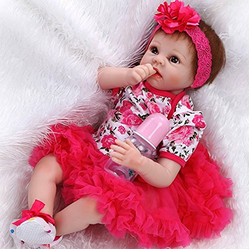 ZIYIUI Realista Reborn Baby Doll 22pulgadas 55