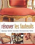 Rénover les fauteuils