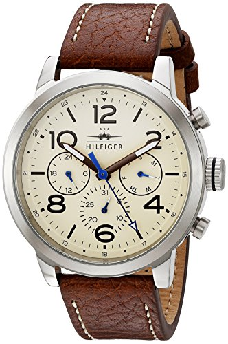 Tommy Hilfiger Men's 1791230 Jake Analog Display Japanese Quartz Brown Watch