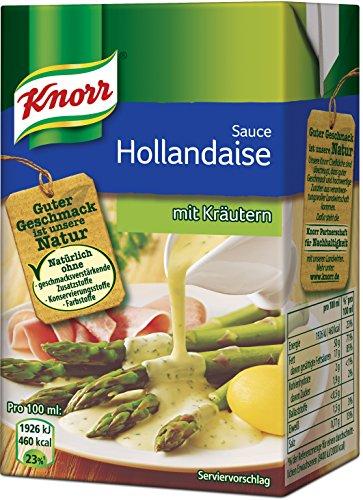 Knorr Tafelfertige Hollandaise mit Kräutern Soße 250 ml