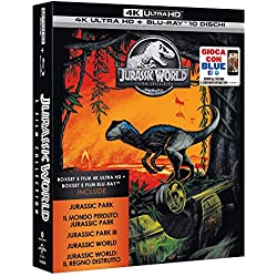 Jurassic 5 Movie Super Collection (5 Blu-Ray 4K Ultra HD+Blu-Ray) [Italia] [Blu-ray]