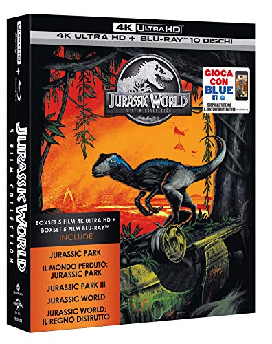 Jurassic 5 Movie Super Collection (5 Blu-Ray 4K Ultra HD + Blu-Ray) [Italy] [Blu-ray]