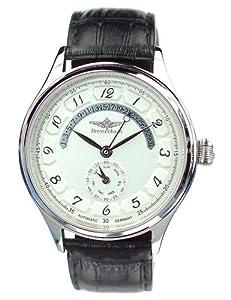 Reloj de caballero Breytenbach BB55102WW-SS 55102 automático, correa de piel color negro de Breytenbach