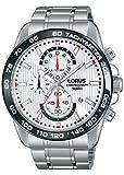 LORUS Reloj Cronógrafo para Hombre de Cuarzo con Correa en Acero Inoxidable RM379CX9