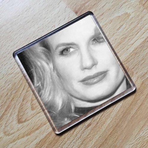 SEASONS Daryl Hannah - Original Art Coaster #js004