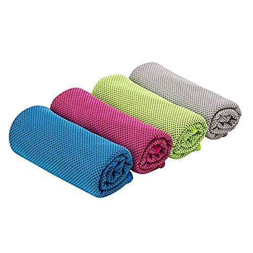 �hlendes Handtuch - kompakter Kühlschal für Yoga, Golf, Camping, Strand, Fitness, Workout, 101,6 x 30,5 cm ()