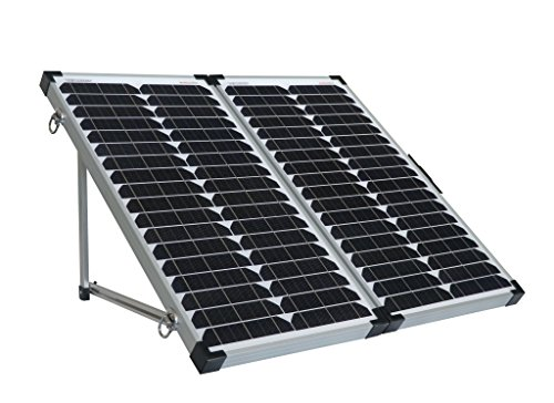 enjoysolar® Solarkoffer faltbare Solarmodule einfach plug and load (60W (2 * 30W)) (Photovoltaik-zellen)
