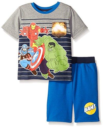 all Short Set, Grey, 4 (Marvel-basketball-shorts)
