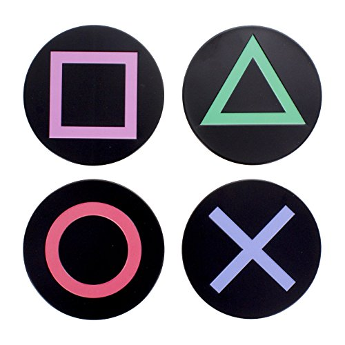 Playstation Metal Icons Coasters...