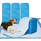 Aliza Pet Training Puppy Pads With Deodorizing Odor Elimination Ultra Absorbent Anti Slip Wee Mats 56 x 56 (Pack Of 100)