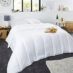 Sweetnight - Couette été 220g/m²   220x240 cm   Fine et Légère   Douceur et Confort   Lavable   Enveloppe 100% Microfibre