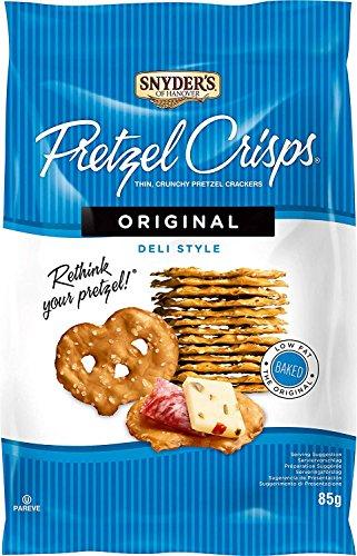 Snyder's Snack Factory Original Pretzel Crisps 85g