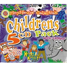 """Children's Collection: """"More Bedtime Tales"""", """"Children's Choice"""", """"Hey Diddle Diddle"""", """"Nellie the Elephant"""", and """"Hokey Cokey"""" (PlayHouse Collection)"""
