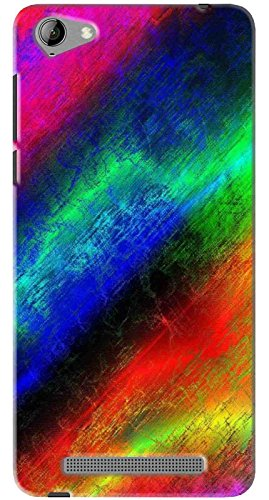 FCS Printed Soft Silicone Back Cover for Micromax Vdeo 4 (Q4251) Pattern-352