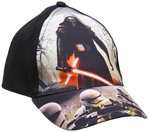 Star wars episodio vii -kylo ren e stormtrooper cappello visiera bambino-ragazzo ep4398 (nero, 52)