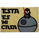 Koko Doormats Felpudo con Diseño Esta Es Mi Casa, Vinilo, Coco, 60 x 40 cm