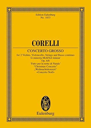 Concerto Grosso Op. 6 N.8 Sol M Poche por Arcangelo Corelli