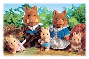 Sylvanian Families - Wildboar Truffle Family