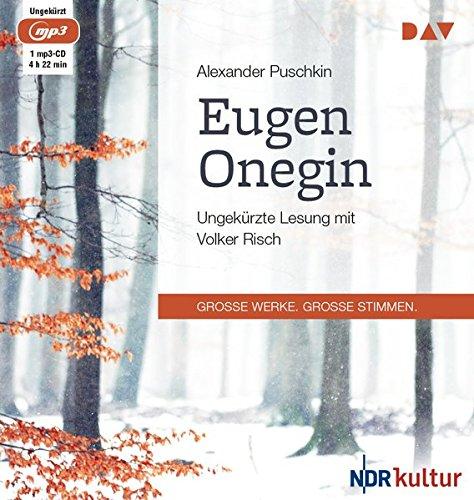 Eugen Onegin: Ungekürzte Lesung (1 mp3-CD)