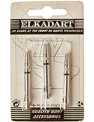 Elkadart Lot de 3 shafts de fléchettes