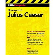 Julius Caesar: Complete Study Edition (Cliffs Notes)