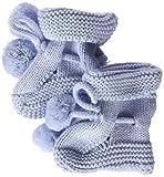 neck & neck 17I23902.20, Calcetines para Bebés, Azul (Celeste), One Size (Tamaño del Fabricante:TU)