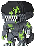 Pop 8 Bit Horror Alien Blood Splattered Vinyl Figure