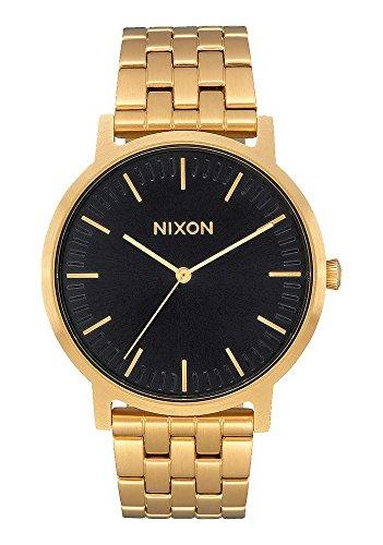 Nixon - Porter 40mm All Gold Black Sunray - Orologio Uomo