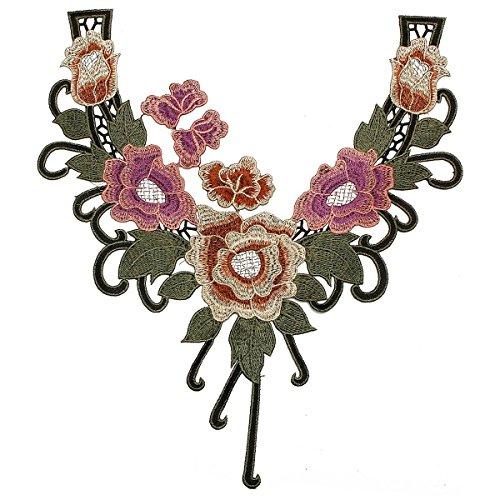 Preisvergleich Produktbild KING DO WAY Spitzenkragen spitze vintage kragen stickereien floral applique trim motiv ethnischen naehen Patchwork DIY Fertigkeit