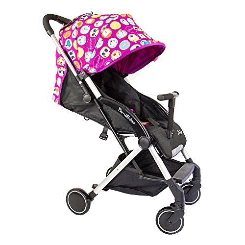 Familidoo Air Pushchair, Pink Purple Rabbit  A One Distribution (UK) Ltd (Baby live code for separate orders)