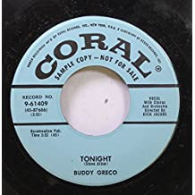 Bubby Greco 45 RPM Tonight / Truly